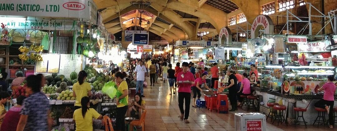 Ben Thanh Markthal - Ho Chi Minh City (Saigon), Vietnam