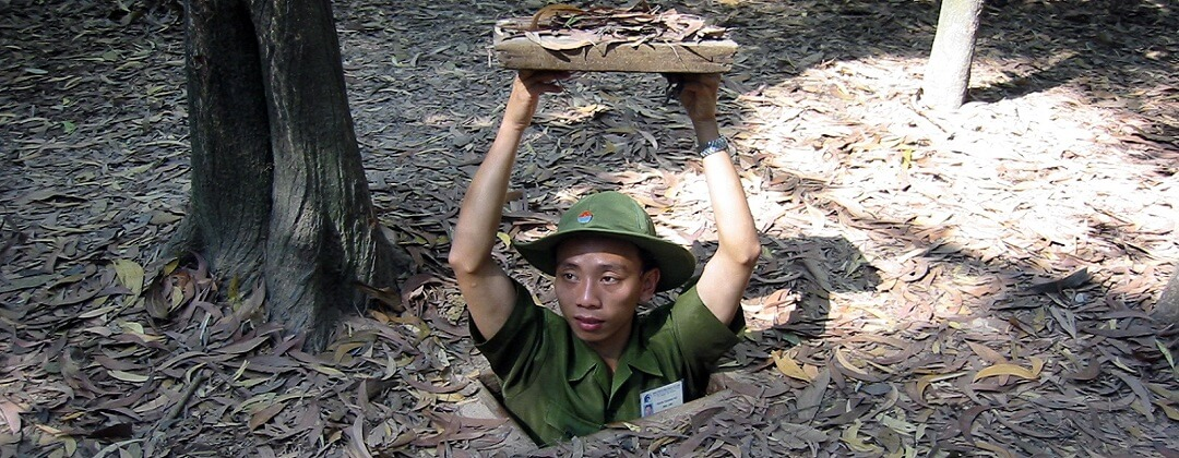 Entree Cu Chi Tunnels - Vietnam
