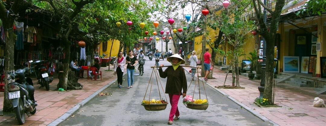 Straatbeeld - Hoi An, Vietnam