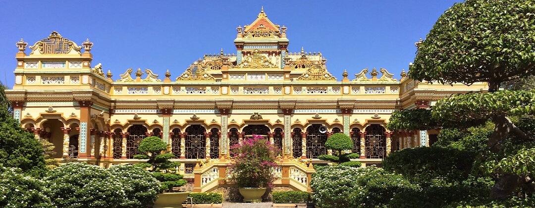 Vinh Trang Pagode - My Tho, Mekong Delta, Vietnam
